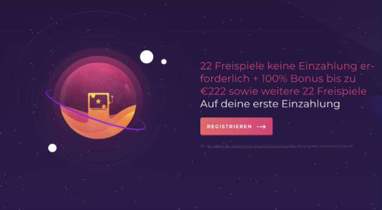Slot Planet Casino – 22 Freispiele keine Einzahlung erforderlich