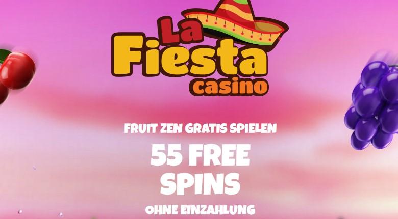 La Fiesta Casino – exklusive 55 Freispiele ohne Einzahlung sofort!