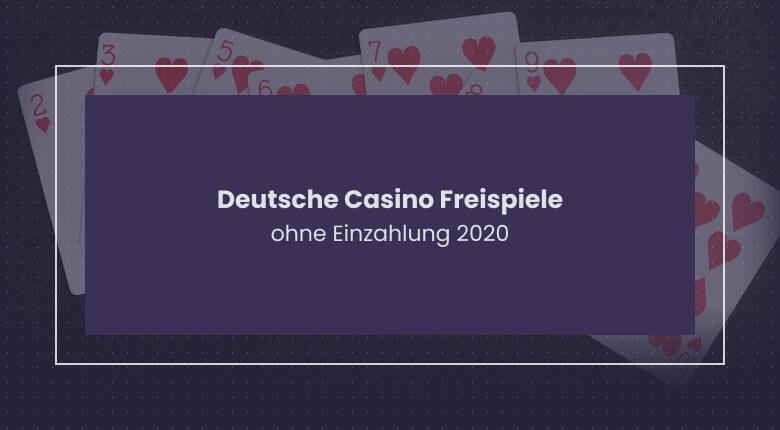 Deutsche Online Casinos Mit Bonus Ohne Einzahlung