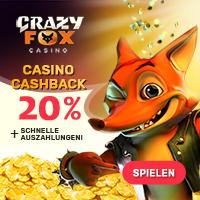 crazy fox logo