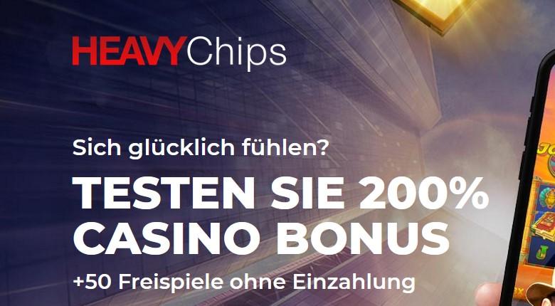 Heavy Chips – 50 Freispiele ohne Einzahlung