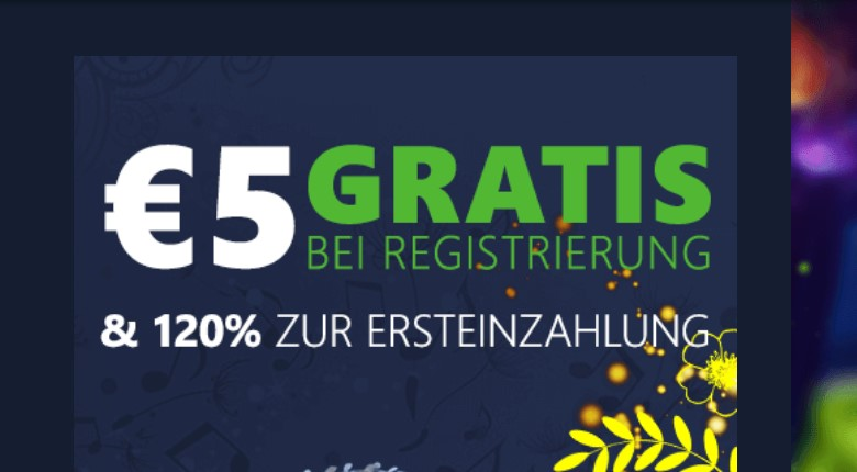 Rembrandt Casino – 5€ Bonus ohne Einzahlung sofort!