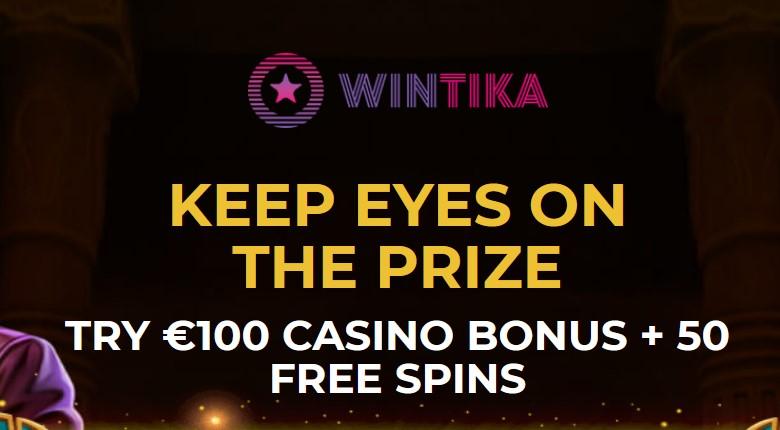 Wintika Casino – 50 Freispiele bei Registrierung